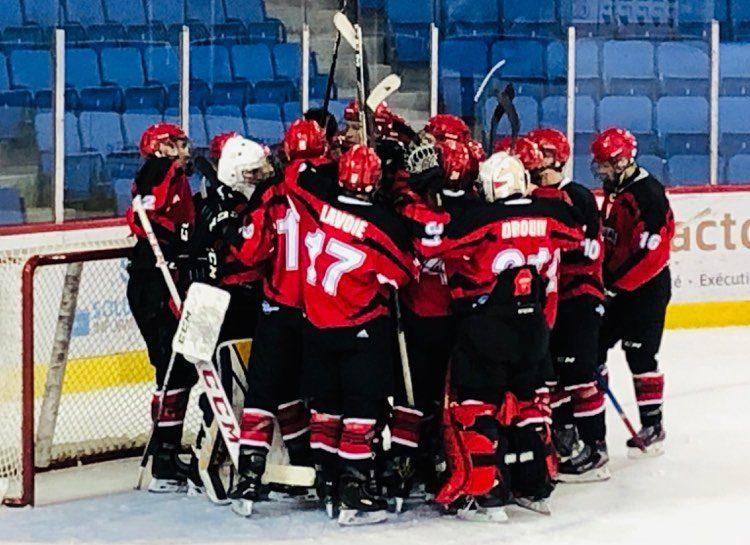 Grand retour de nos Dragons hockey ce dimanche!